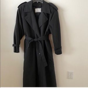 Vintage London Fog Trench Coat quilted lining